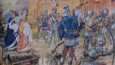 Jacoba van Beieren voor Gornichem
