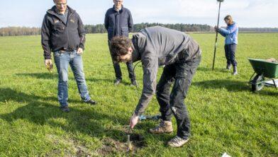 Sensoren meten de grondwaterstand