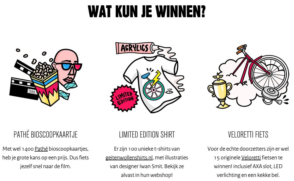 fietsmodus app wat kun je winnen