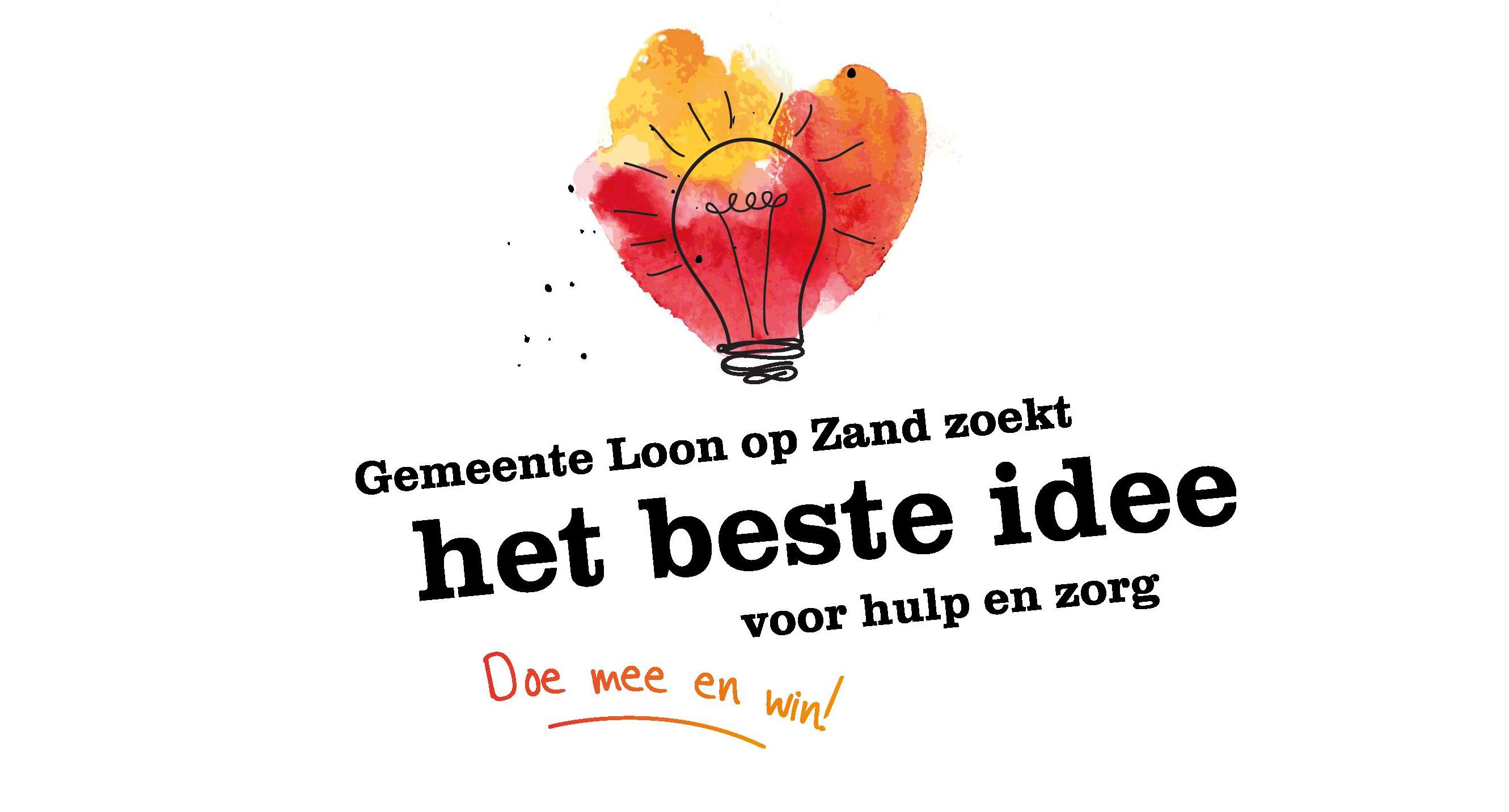 Stem op het beste idee en kies welke 10 idee n winnen loon op zand - Ideeen inzendingen ...