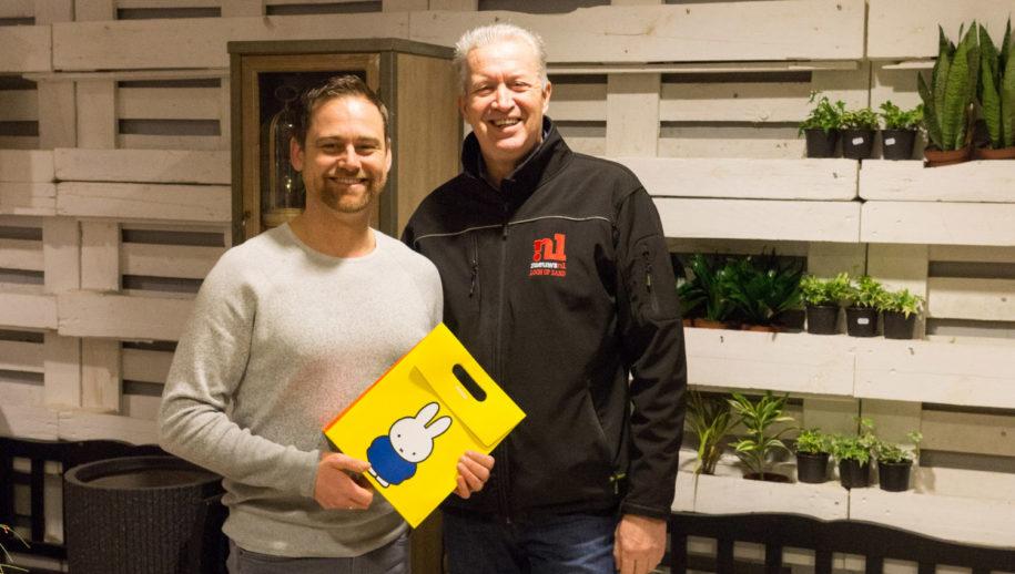 Pascal Zijlmans en Rolf Balkenende (Loonopzand,nieuws.nl)