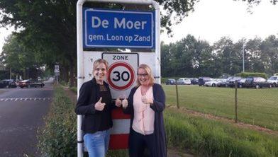 Jill de Bie en Ingrid van Vugt
