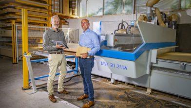 V.l.n.r. Wilfried van Wanrooy en Deni van Wanrooy