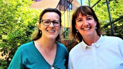 Bouwine Carlier en Suzanne van Hees