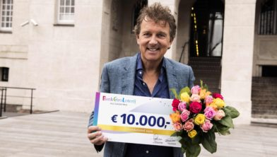 BankGiro Loterij-ambassadeur Robert ten Brink