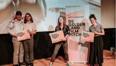 V.l.n.r.: Matthieu Reijnoudt, Romar de Bonte, Katinka Schlette en Astrid Feringa
