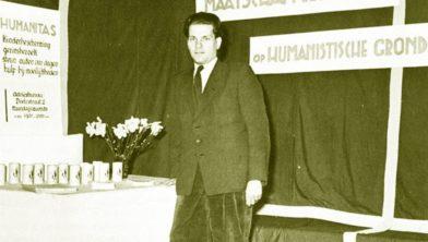 Informatiestand van Humanitas 1945