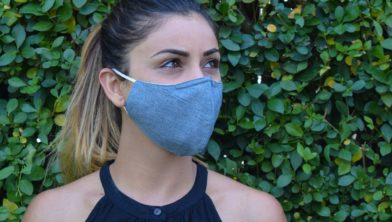 Gebruik bij voorkeur een herbruikbaar mondkapje.