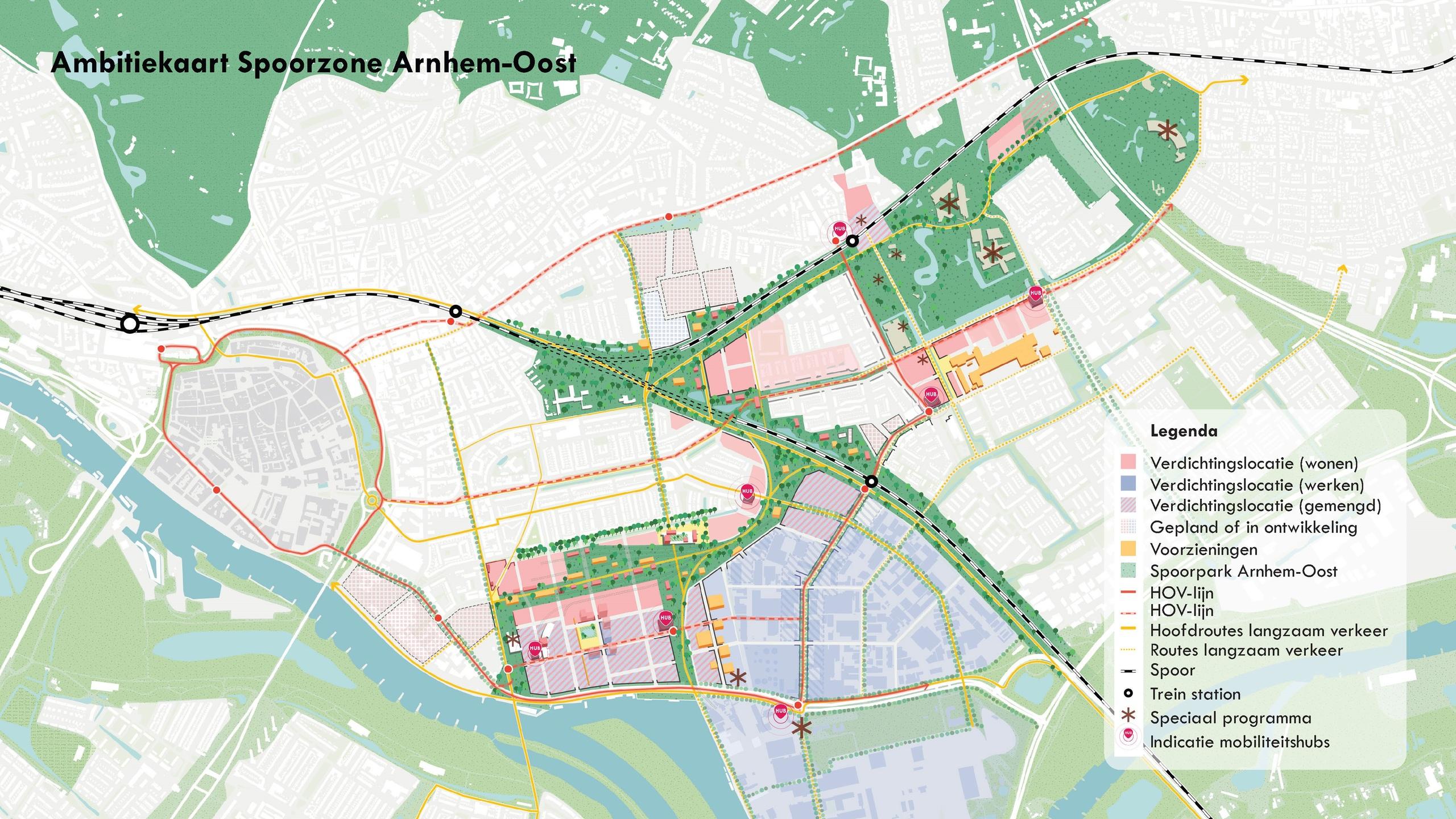 Spoorzone Arnhem-Oost