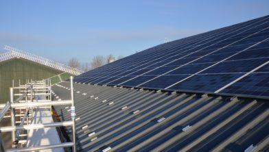 Daken genoeg voor zonnepanelen.