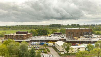 Nieuwbouw Isala en Noorderboog.