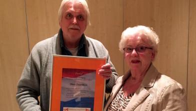 Theo Zuurman (links) en Coos van Rijswijk