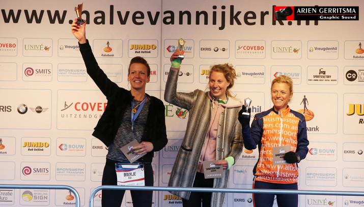 Boukje Mannens werd 2e in de halve van Nijkerk