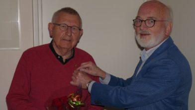 Ton Willems (l) en Eghard Kouwenhoven