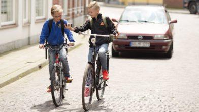 Winterswijk, 29-06-2016. Kinderen in het verkeer voor Veilig Verkeer Nederland. Foto: Bastiaan Heus