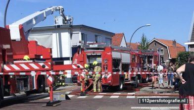 Aan de vrijheidslaan in Nijkerk is in een schuur brand instaan.   Brand is in een schuur begonnen en overgeslagen naar een schutting van een fietsenmaker waar fietsen tegen aan stonden deze zijn ook in brand gevlogen. Door de snelle inzet van de brandweer heeft de brand zich niet verder kunnen uitbreiden.