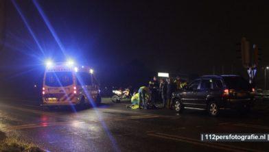 Op de Berencamperweg in Nijkerk heeft donderdagochtend een ernstig ongeval plaats gevonden.  Meerdere hulpdiensten waaronder een trauma helikopter werden opgeroepen.   Ter plaatse bleek er een persoon te zijn aangereden  Meer info volgt!!!!  Een voetganger werd geschept door een personenauto, het slachtoffer is overgebracht naar het ziekenhuis. De opgeroepen traumahelikopter werd voor het opstijgen afgemeld.