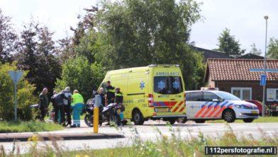 Een motorrijder is donderdag gewond geraakt na een val bij de rotonde aan de bunschoterweg in Nijkerk.  Een motorrijder kwam op de rotonde door onbekende oorzaak ten val en raakte gewond. De motorrijder is met onbekende letsel overgebracht naar het ziekenhuis.