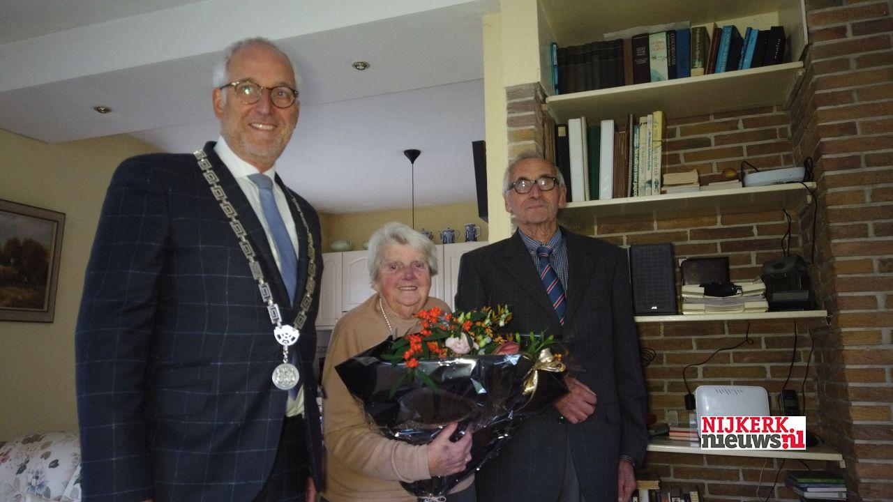 De heer en mevrouw De Boer-van der Goot zijn 65 jaar getrouwd - nijkerknieuwsNL