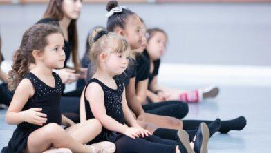 Kids Down Syndrome dance studio class