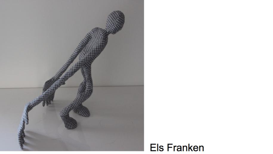 Els Franken geeft de ploegende landbewerkers weer.