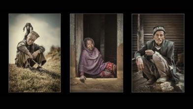Reeks portretten uit 'People of Nepal'