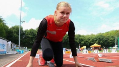 Rianne Beuling loopt PR op 100 meter