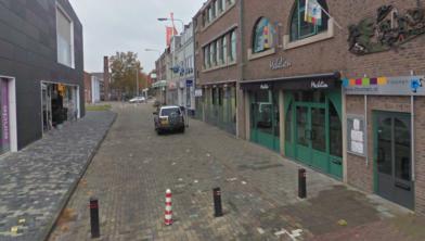 Uitstallingen mogen weer in onder meer de Beursstraat in Emmeloord.