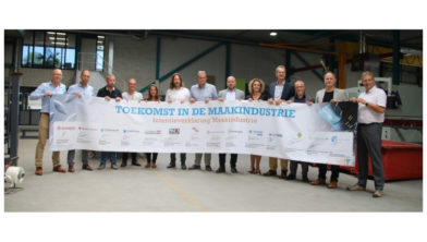 Samenwerkende partijen project maakindustrie.