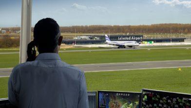 Coverfoto Lelystad Airport krant december 2019