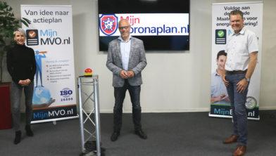 Wethouder Hans Wijnants lanceerde met een druk op de rode knop de website