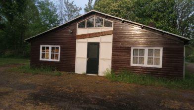 De laatste Belgische barak in Emmeloord.