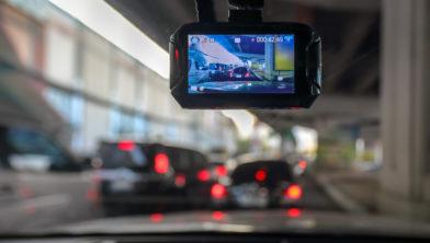 Dash Cam in auto