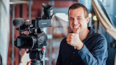 YouTuber Frans Pol uit Ens