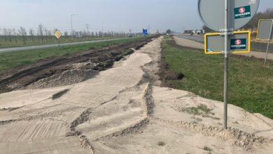 Fietspad Kamperweg wordt van beton.