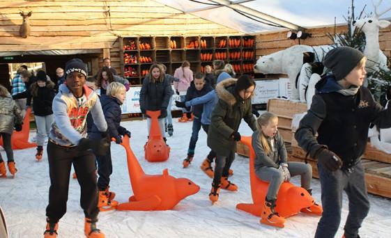 Noordwijk Winter Wonder Weer In Het Land Noordwijk