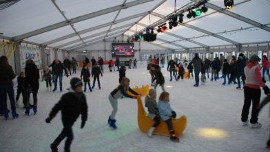 De schaatsbaan in 2017