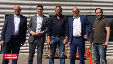 vlnr: Paul vd Westen, Tom Berendsen, Willem Verboon, Marcel Willemsen, Ruben Jacobs
