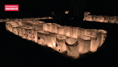 Lichtjesavond op de begraafplaats