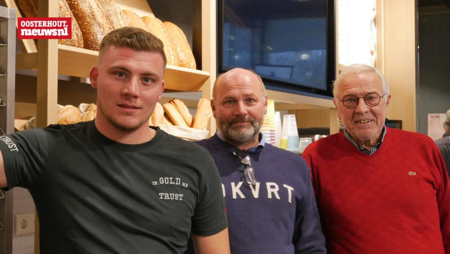 Tim, Remko en Dick Lamme