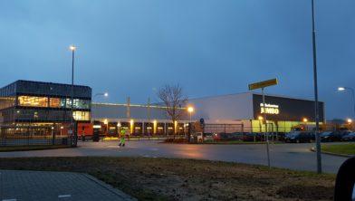 Distributiecentrum van Jumbo supermarkt in Elst