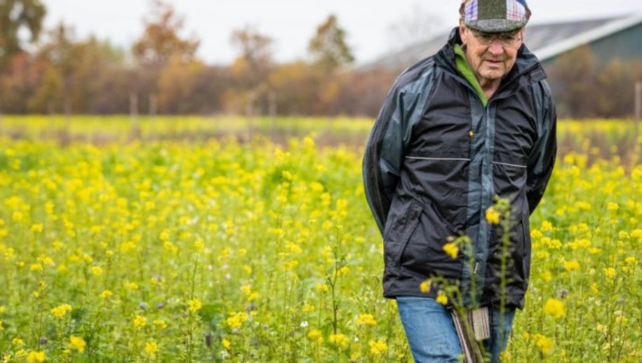 Louis Dolmans houdt de biodiversiteit in de gaten