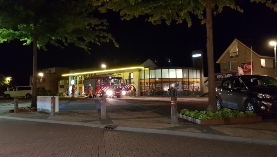 Brandweer moest voor de Jumbo parkeren