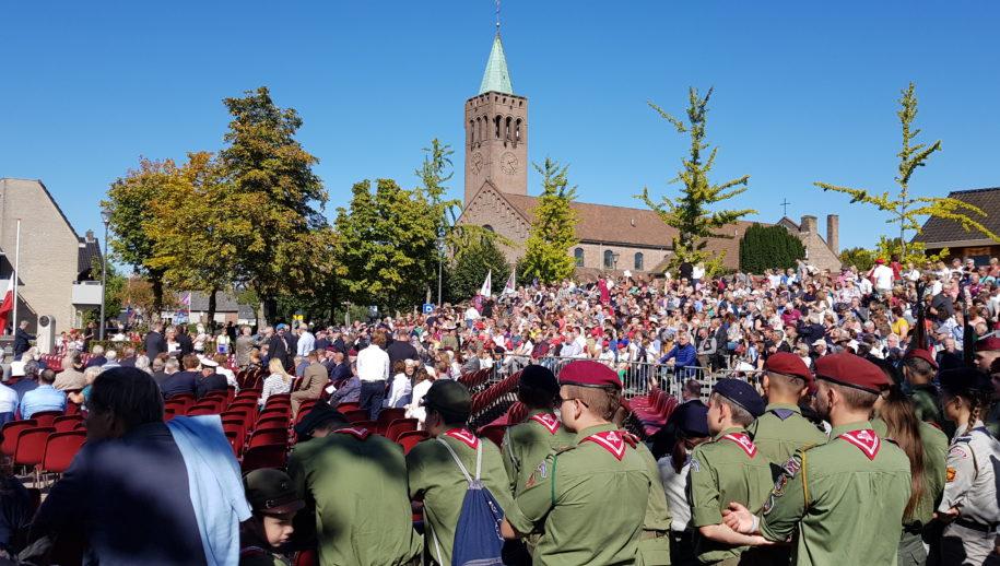 Herdenking Driel 2019 met veel publiek