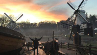 Herfst bij Scheepswerf Nederlands Openluchtmuseum