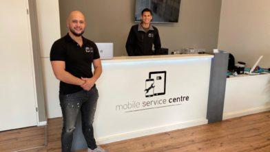 Lars en Sverre staan voor je klaar in Mobile Service Centre in Zetten