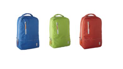 Deze tassen zijn van gerecyclede petflessen gemaakt