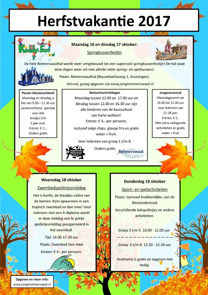 Activiteiten Voor Kinderen In De Herfstvakantie Reimerswaal