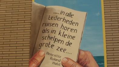 Poëzie aan de muur Henriëtte Roland Holst