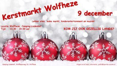 Kerstmarkt Op Camping Lindenhof In Wolfheze